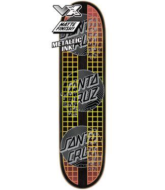 "Santa Cruz 7.75"" Transcend Dots VX Skateboard Deck"