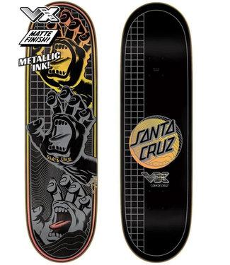 "Santa Cruz 8.8"" Transcend Hands VX Skateboard Deck"