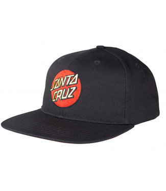 Santa Cruz Classic Dot Mesh Cap Black/Black