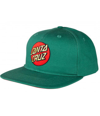Santa Cruz Classic Dot Snapback Evergreen