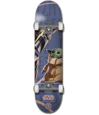 "Element 7.75"" Mandalorian Assorted Complete Skateboard"