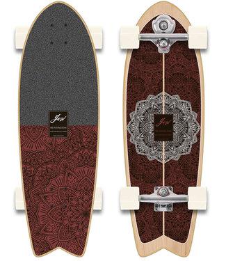"""YOW 30"""" Huntington Beach Power Surfing Series Surfskate (S5 Meraki System)"""