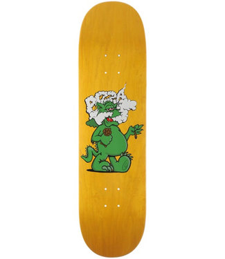 "Pizza Skateboards 8.375"" Puff Yellow Skateboard Deck"