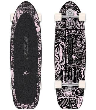 YOW x Pukas Dark 34.5″ Complete Surfskate