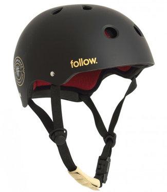 Follow Pro Black Maroon Wakeboard Helmet