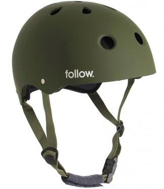 Follow Pro Olive Wakeboard Helmet