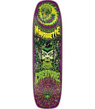 "Creature 8.8"" Navarette Hell Queen Purple Skateboard Deck"