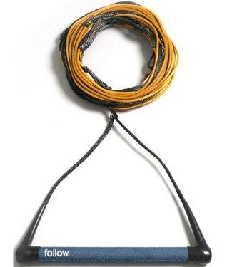 Follow Triple Pro Package Denim/Mustard 2021 (Handle + Rope)