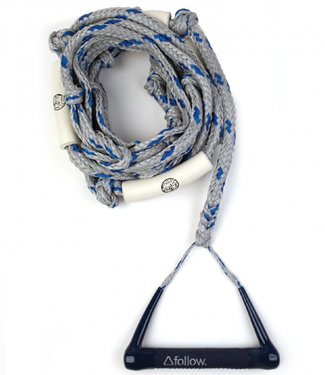 Follow 25'' Rope w/5'' Bar Surf Package Navy/Grey 2021