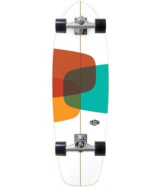 "Triton X Carver CX Raw 32"" Prismal Surfskate Complete"