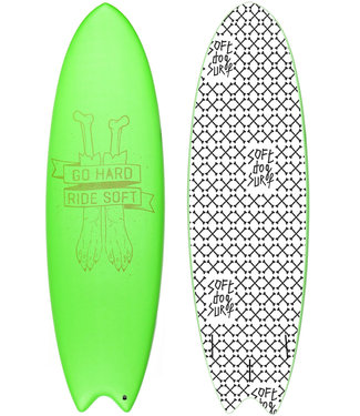 "Softdog Surf 6'6"" Boxer Soft Surfboard (Incl Fins)"