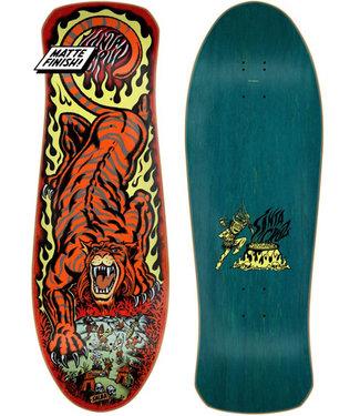 "Santa Cruz 10.3"" Salba Tiger Reissue Red Skateboard Deck 2021"