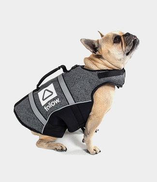 Follow Dog Floating Aid Vest Black