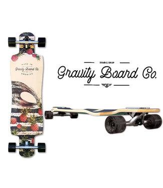 "Gravity 38"" Pineapple Express Longboard Complete"