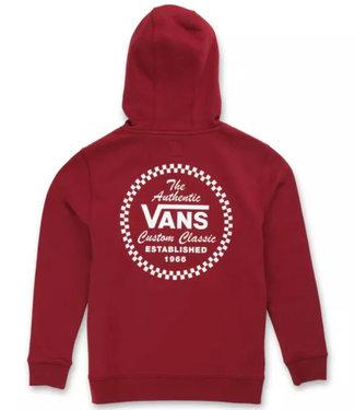 Vans Boys Custom Classic Pomegranate Pullover