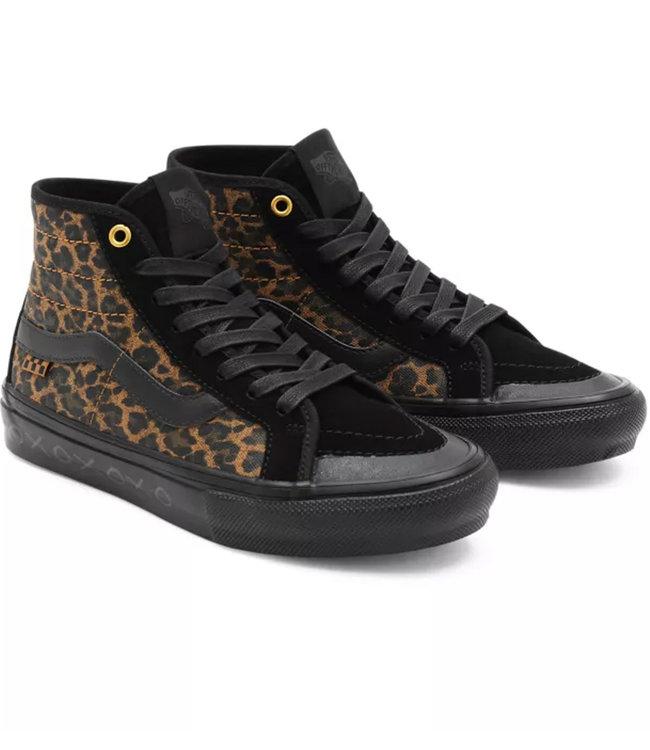 Vans Sk8-Hi Decon (Cher Strauberry) Cheetah Shoe