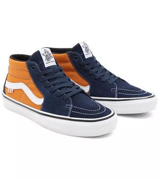 Vans Skate Grosso Mid Navy/Orange Shoe