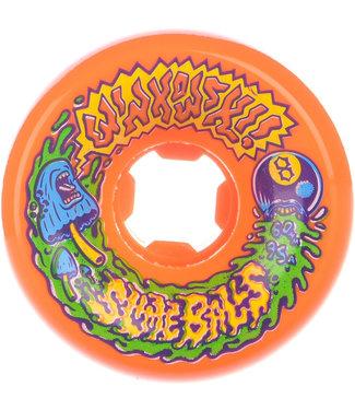 Santa Cruz Winkowski Vomits 95A 60 mm Orange Skateboard Wheels
