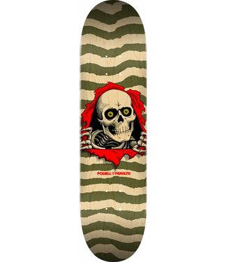 "Powell Peralta 8.75"" Ripper Natural/Olive Skateboard Deck"
