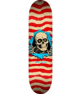 "Powell Peralta 8.5"" Red Ripper Natural Skateboard Deck"