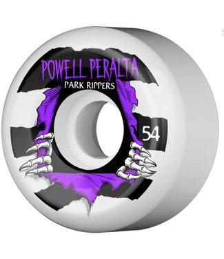 Powell Peralta 54mm PF 104A Park Ripper 2 White Skateboard Wheels