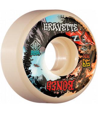 Bones 53mm STF 99A Gravette Heaven & Hell V2 Lock Skateboard Wheels