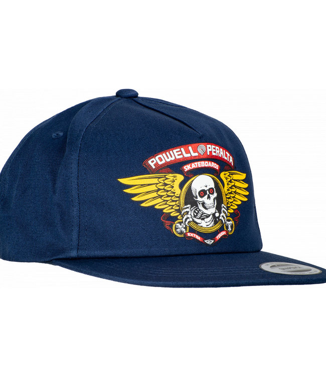 Powell Peralta Winged Ripper Snapback Navy Cap
