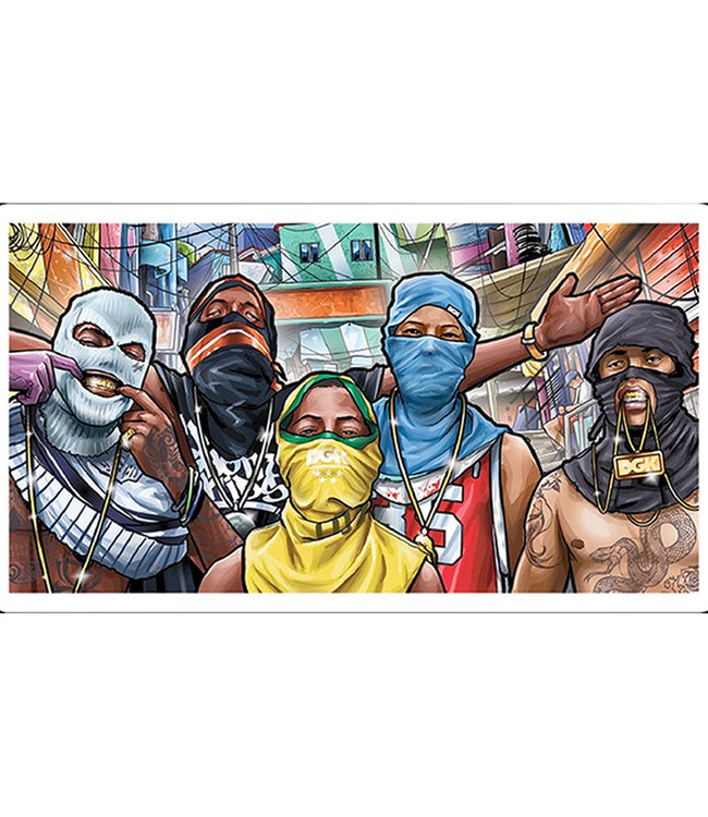 """DGK 4"""" Favela Sticker"""