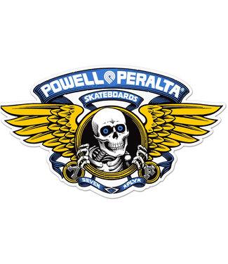 "Powell Peralta 5"" Winged Ripper Blue Sticker"