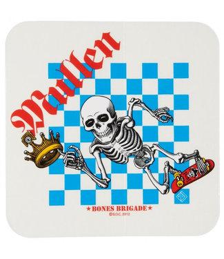 "Bones 4.375"" Bones Brigade Rodney Mullen Sticker"