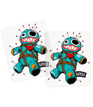 "Bones 4"" Stik BW Voodoo Sticker"