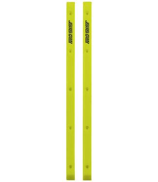 Santa Cruz Slimline Skateboard Rails Yellow