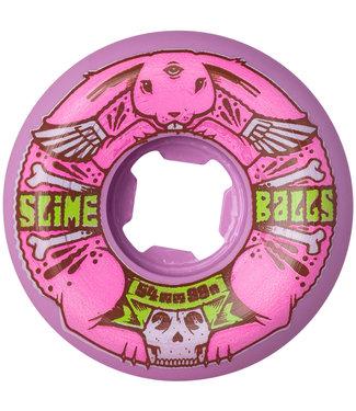 Santa Cruz Jeremy Fish Bunny Speed Balls Pink 99A 54mm Skateboard Wheels