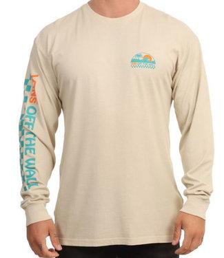 Vans Barreled Long Sleeve Oatmeal T-Shirt