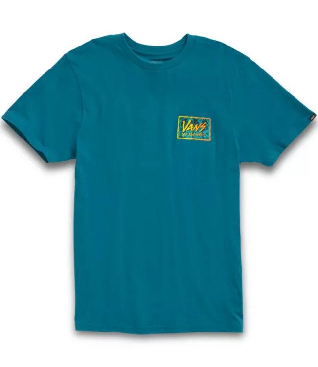 Vans Sketched Palms Blue Coral T-shirt