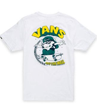 Vans Boys Sk8 Cadet White T-shirt