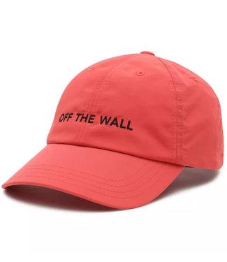 Vans Nylon Court Side Hat Hot Coral