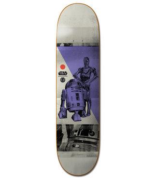 "Element X Star Wars 8"" Droid Skateboard Deck"