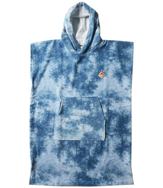 Vissla Changing Towel Blue Tie Dye Poncho