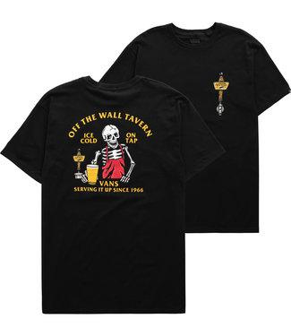 Vans Off The Wall Tavern Black T-Shirt