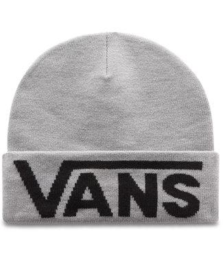 Vans Drop V Tall Cuff Heather Grey Beanie