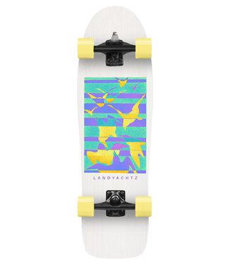 "Landyachtz 32"" Surf Life Birds Surfskate Complete"