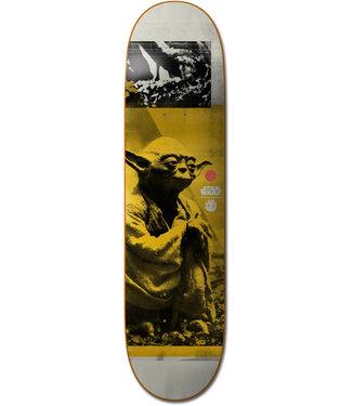 """Element X Star Wars 7.75"""" Yoda Skateboard Deck"""
