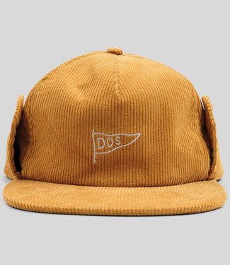 The Dudes DDS Mustard Unstructered 5 Panel Cap