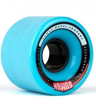 Hawgs Chubby Longboard Wheels 60mm 78A Blue