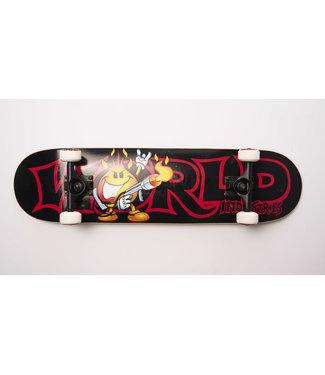 "World Industries 7.75"" Flame World Skateboard Complete"