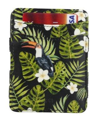 Hunterson RFID Toucan Print Magic Wallet