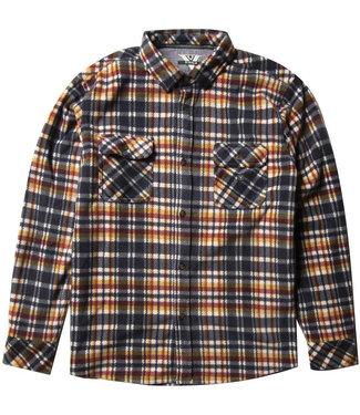 Vissla Eco-Zy Dark Naval Polar Flannel Shirt