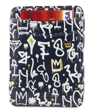 Hunterson RFID Hip Hop Print Magic Wallet