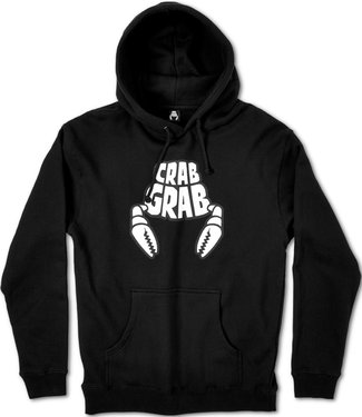 Crab Grab Classic Black Snowboard Hoodie